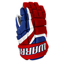 Covert DT2 Glove, Royal Blue with Red & White