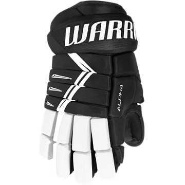 DX3 Senior Glove, Black with White