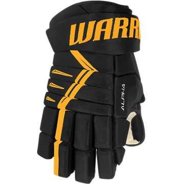 DX4 Senior Glove, Black with Silver