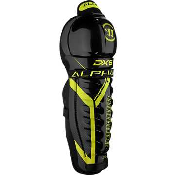 DX5 JR Shin Guard, Black