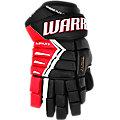 DX Senior Glove, Black with Red & White
