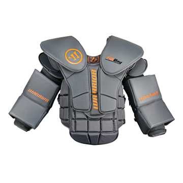 Small Fatboy Goalie Chest Pad, Grey