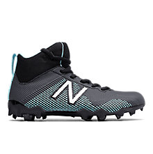 FREEZE JR CLEAT, Black with Aquamarine