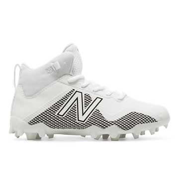 FREEZE JR CLEAT, White with Black