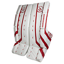 Ritual G2 Int Leg Pad, White with Red