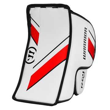 G4 YTH Blocker, White with Black & Red