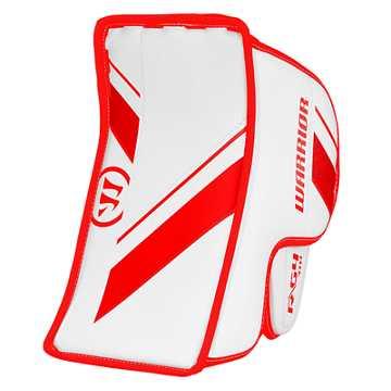 G4 YTH Blocker, White with Red