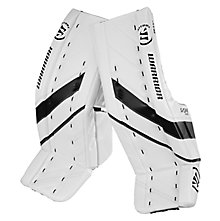 G4 Pro Leg Pad, White with Black