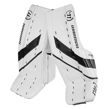 G4 INT Leg Pad, White with Black