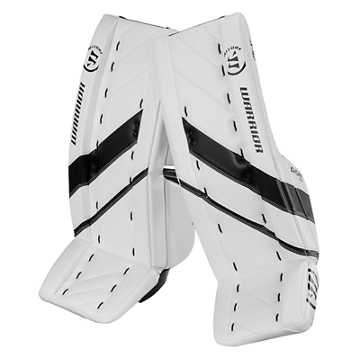 G4 JR Leg Pad, White with Black