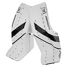 G4 SR Leg Pad, White with Black