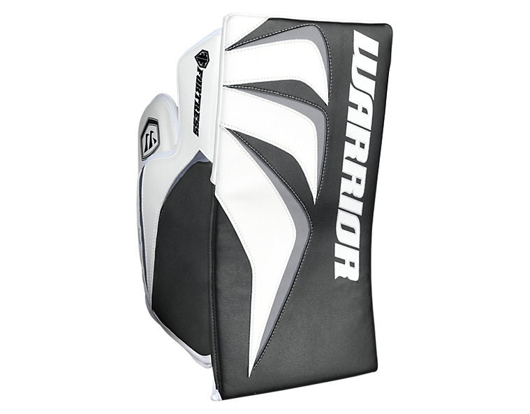 Fortress Blocker, White with Silver & Red