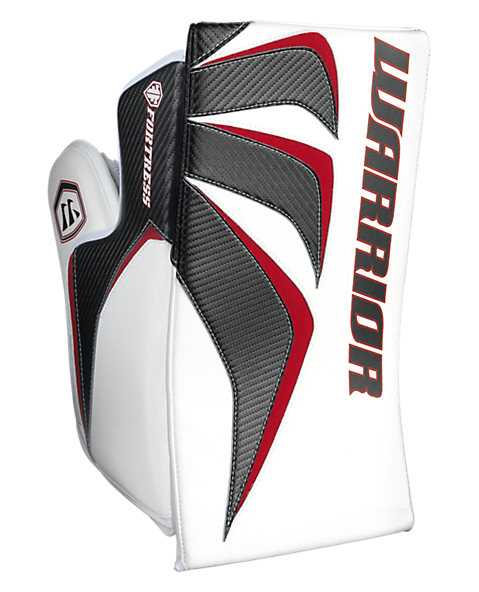 Fortress Blocker, White with Black & Red