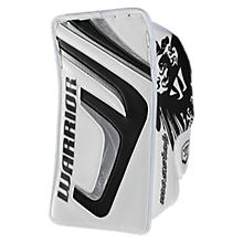 Messiah Blocker, White with Black & Silver