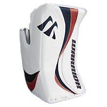 Swagger Blocker, White with Navy & Red