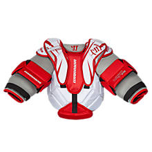 Ritual Youth Chest Protector, White with Grey & Red