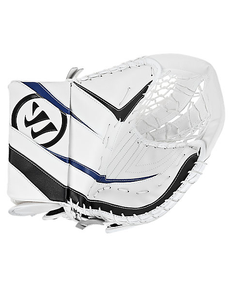 Ritual Sr & Int Trapper, White with Black & Royal Blue