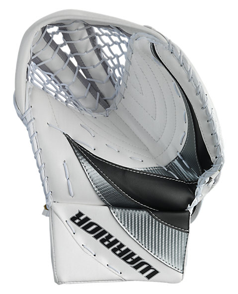 Swagger Catch Glove, White with Black & Silver