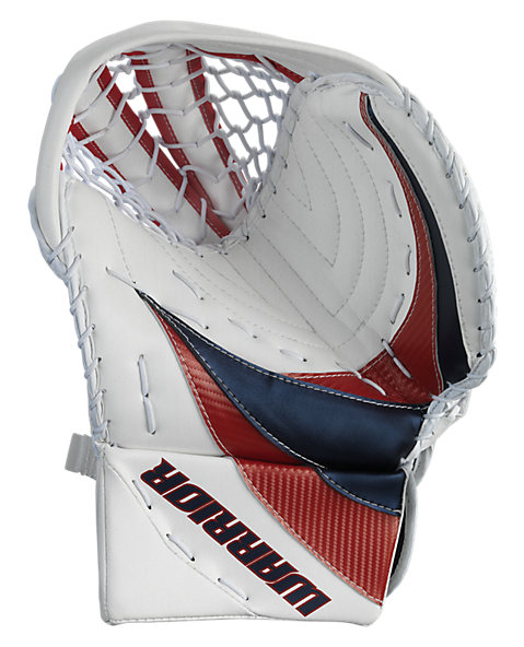 Swagger Catch Glove, White with Navy & Red