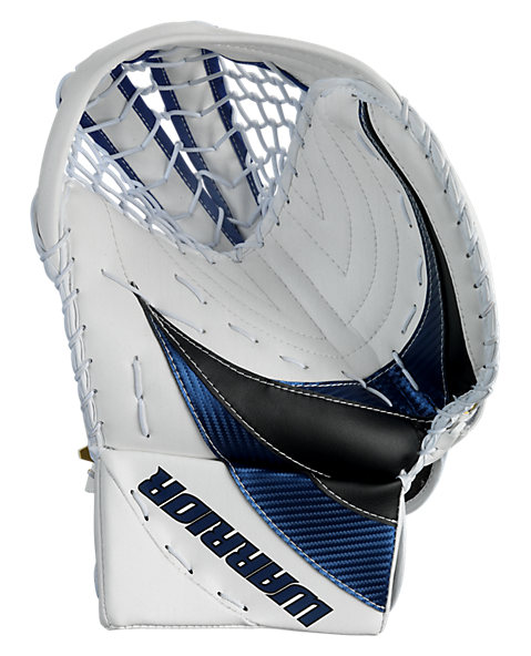 Swagger Catch Glove, White with Royal Blue & Black