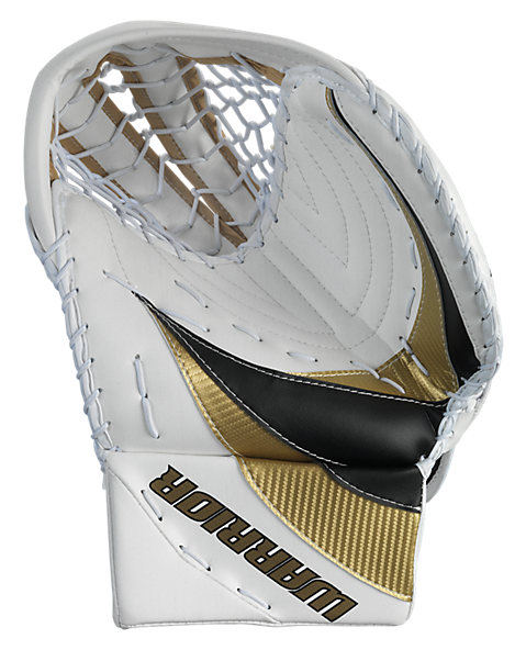 Swagger Catch Glove, White with Vegas Gold & Black
