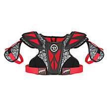 Gremlin Fatboy Shoulder Pad, Black with Red