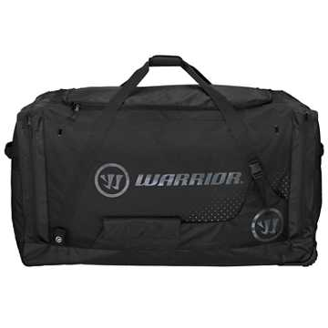 Goalie Roller Bag, Black with Grey