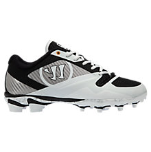Gospel Cleat, White with Black