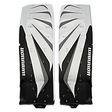 Fortress Leg Pads, Black with White & Silver