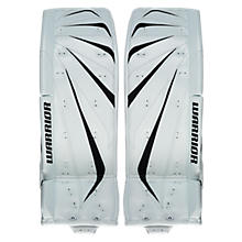 Fortress Leg Pads, White with White & Black