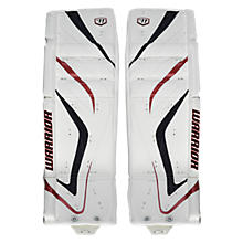 Messiah Leg Pads, CHI White with Black & Red