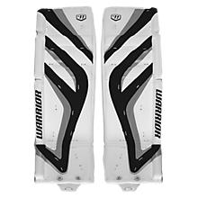 Messiah Leg Pads, White with Black & Silver