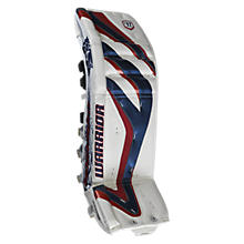 Messiah Leg Pads, White with Navy & Red