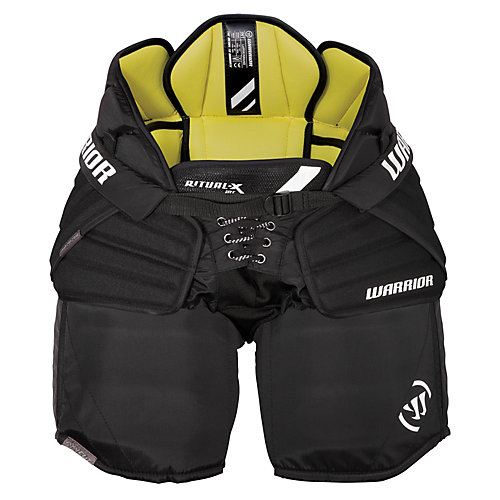 Ritual X Sr/Int Goalie Pants, Black with Yellow