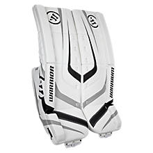 Ritual Sr & Int Leg Pad, White with Black & Silver