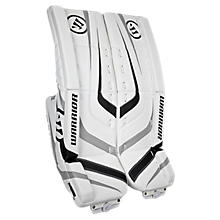 Ritual Jr Leg Pad, White with Black & Silver