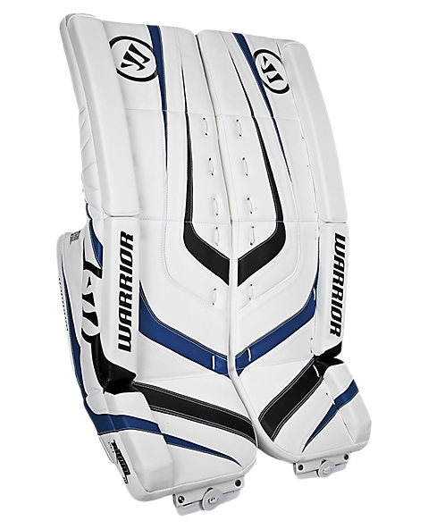 Ritual Jr Leg Pad, White with Black & Royal Blue
