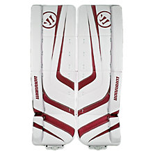 Ritual Pro Leg Pad, White with Red