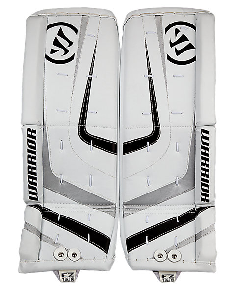 Ritual Youth Leg Pad, White with Black & Silver