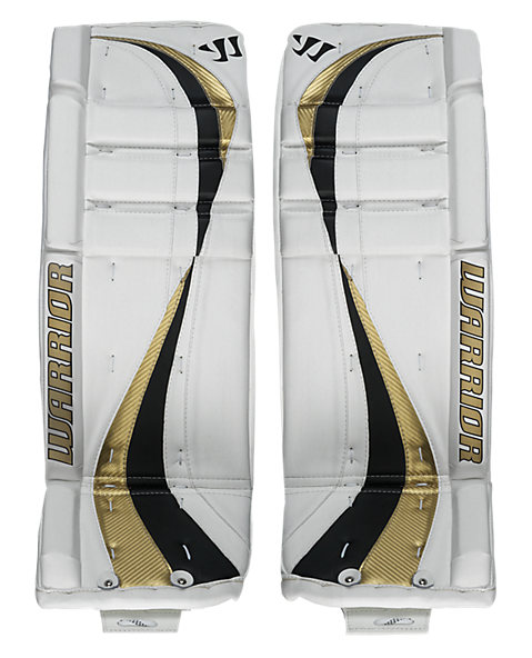 Swagger Leg Pads, White with Vegas Gold & Black