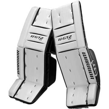 GT2 SR Classic Leg Pad, White with Black