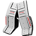 GT2 SR Classic Leg Pad, White with Black & Red