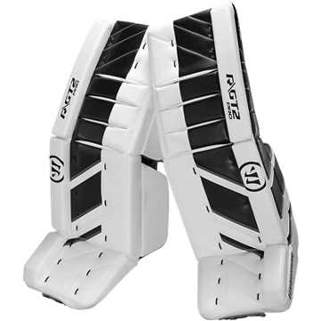 GT2 Pro Leg Pad, White with Black