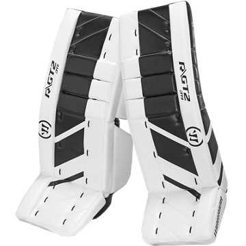 GT2 JR Leg Pad, White with Black