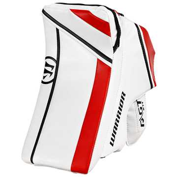 Ritual GT INT Blocker, White with Black & Red