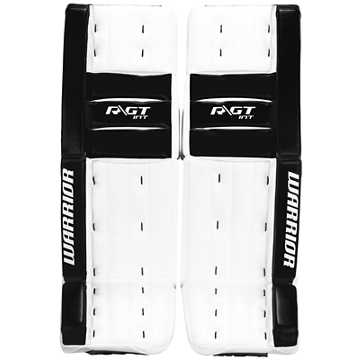 Ritual GT INT Classic Leg Pads, White with Black
