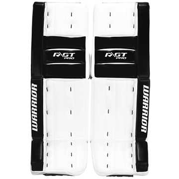 Ritual GT Pro Classic Leg Pads, White with Black