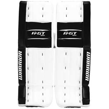 Ritual GT SR Classic Leg Pads, White with Black
