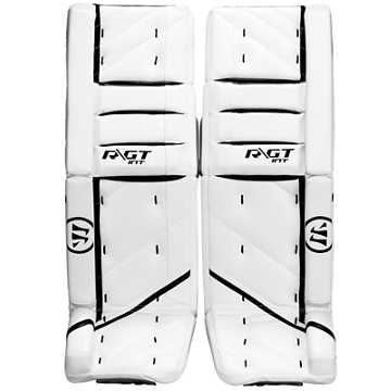 Ritual GT INT Leg Pads, White with Black