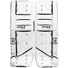 Ritual GT Pro Leg Pads, White with Black